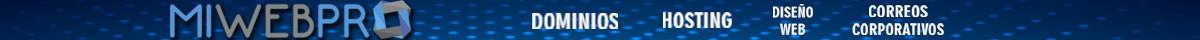 MiWebPRo Web Hosting Diseño Web Correo Corporativo Dominio