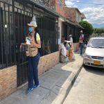 UESVALLE visitó comunas palmireñas para control larvario del dengue