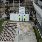 En Palmira incautaron más de 800 kilos de droga trasladados desde el Cauca