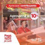Alcaldía habilitó facturas del impuesto predial 2021