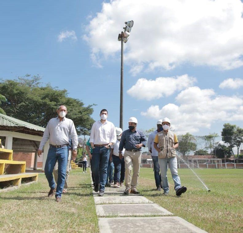 Obras en polideportivos de la ciudad muestran óptimas condiciones