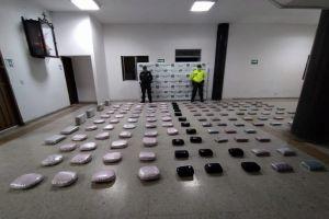 Incautados 110 kilos de droga y 14 capturados en despliegue policial