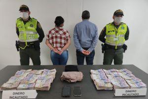 Viajeros llevaban en su equipaje $360 millones en efectivo
