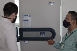 Palmira adquiere ultracongelador y se alista para el plan de vacunación