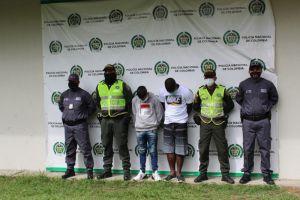 Capturados dos líderes de bandas dedicadas al microtráfico y homicidio
