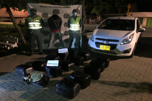 Incautaron 100 kilos de marihuana en corregimiento Bolo San Isidro